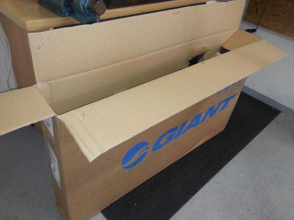 Kolo z krabice